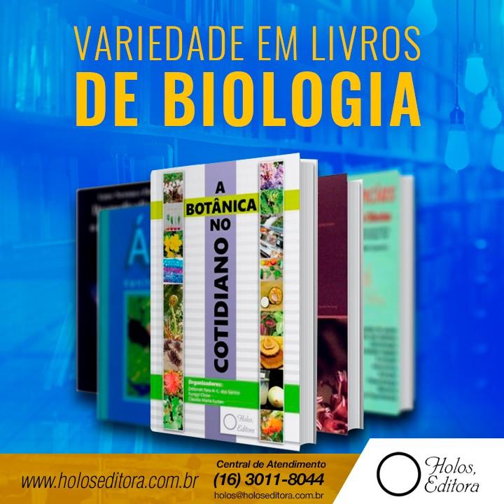 Variedade em livros de Biologia