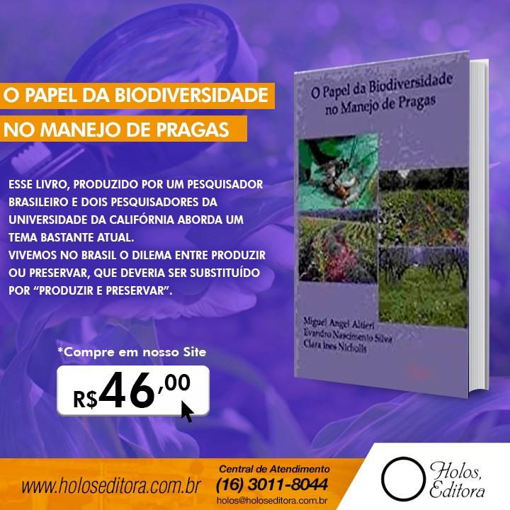 O papel da biodiversidade no manejo de pragas