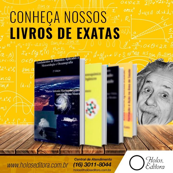 Conheça nossos Livros de Exatas
